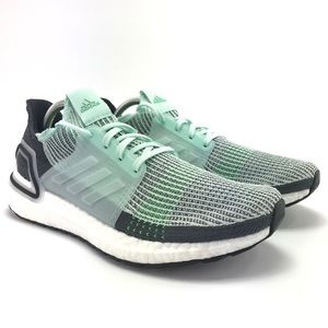 Adidas Mens Ultraboost 19 Ice Mint Running Shoes